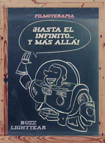 Buzz Lightyear en Toy Story - Infinito