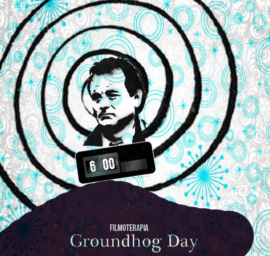 Atrapado en el tiempo- dia de la marmota-groundhog day11