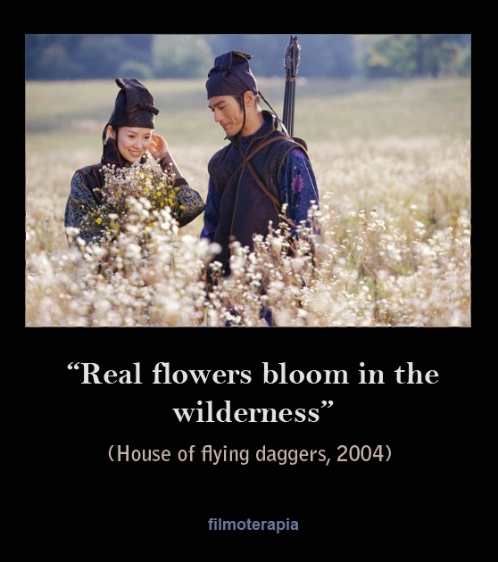 House of flying daggers - Real flowers