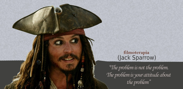 Jack Sparrow in Pirates of the Caribbean - The problem