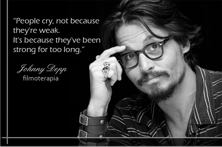 Johnny Deep - Why people cry