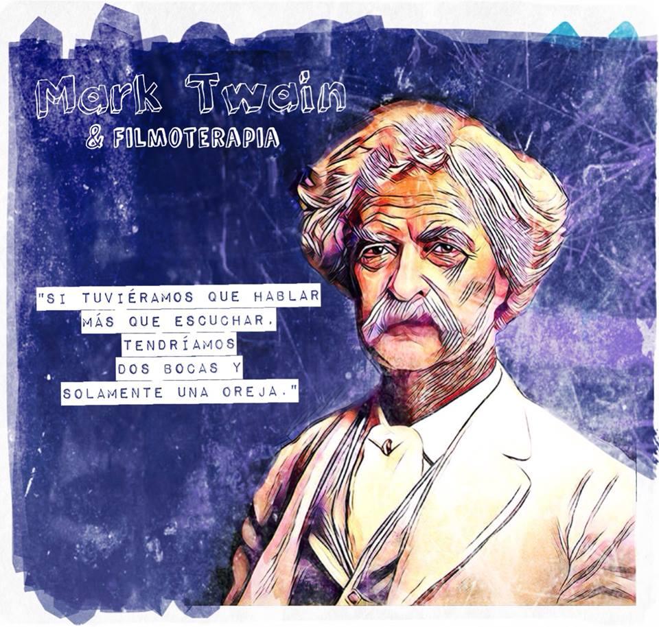 """""""Si tuviéramos que hablar más que escuchar tendríamos dos bocas y solamente una oreja."""" (Mark Twain)"""